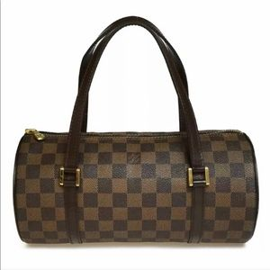 Authentic Louis Vuitton Damier Ebene Papillon Bag